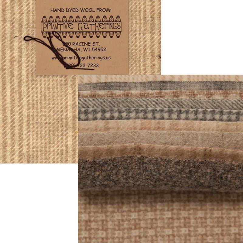 Primitive Gatherings Wool; Charm bundles
