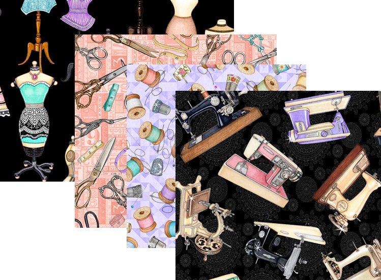 Quilting Treasure; Tailor Made Fabrics by Dan Morris