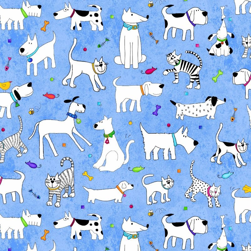 Epic; Woof and Whiskers fabrics