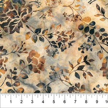 Florentine - Batik Leaves Tan