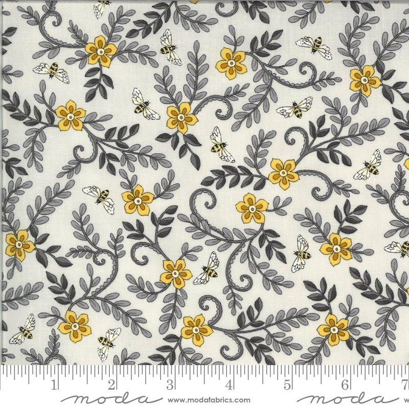 Bee Grateful - Dove Grey