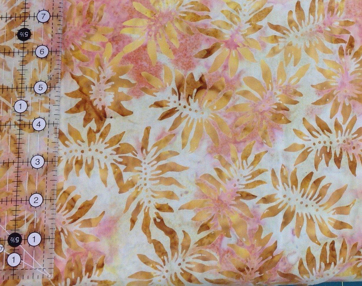 Batik - Pumpkin Pie Sunflower