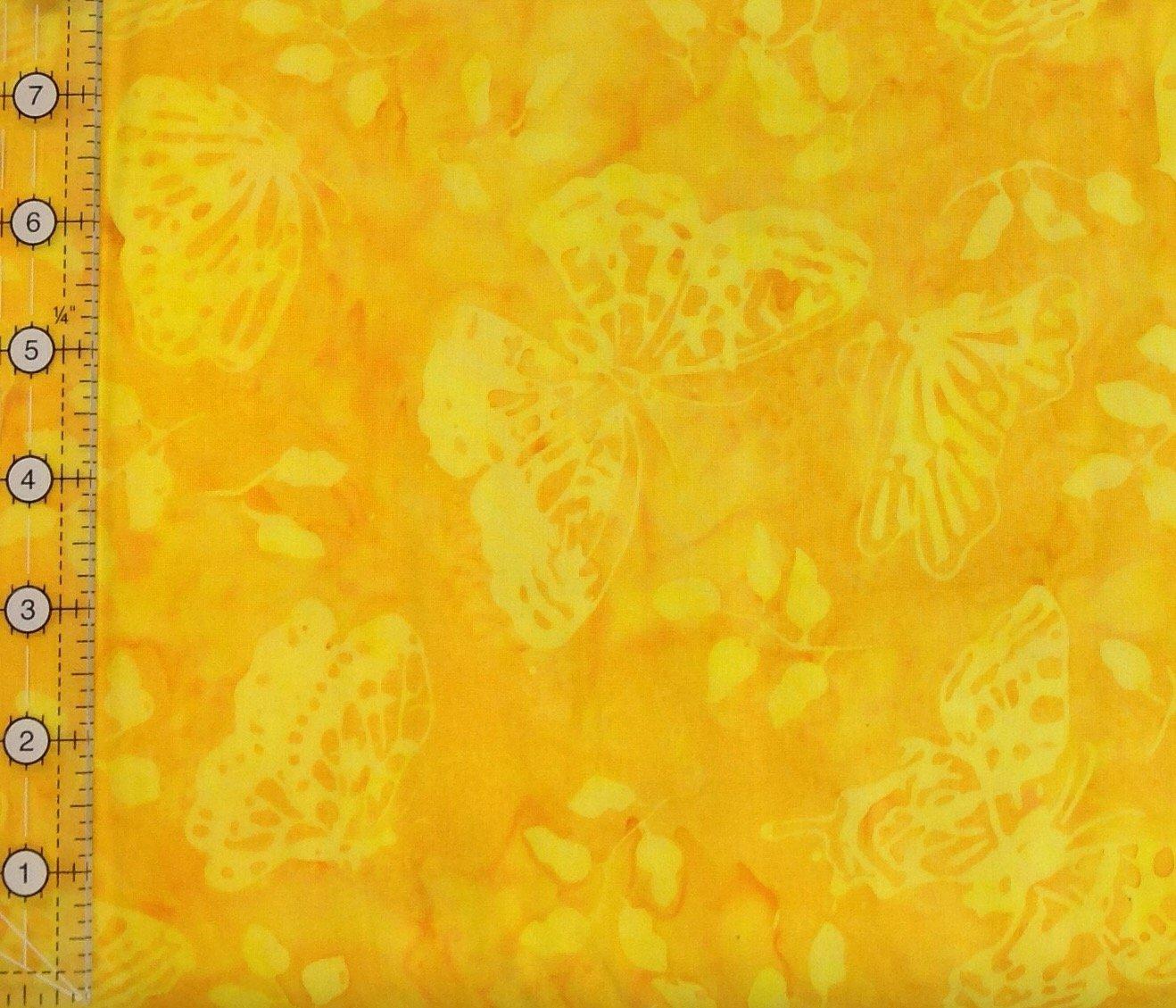 Batik Butterfly - Yellow