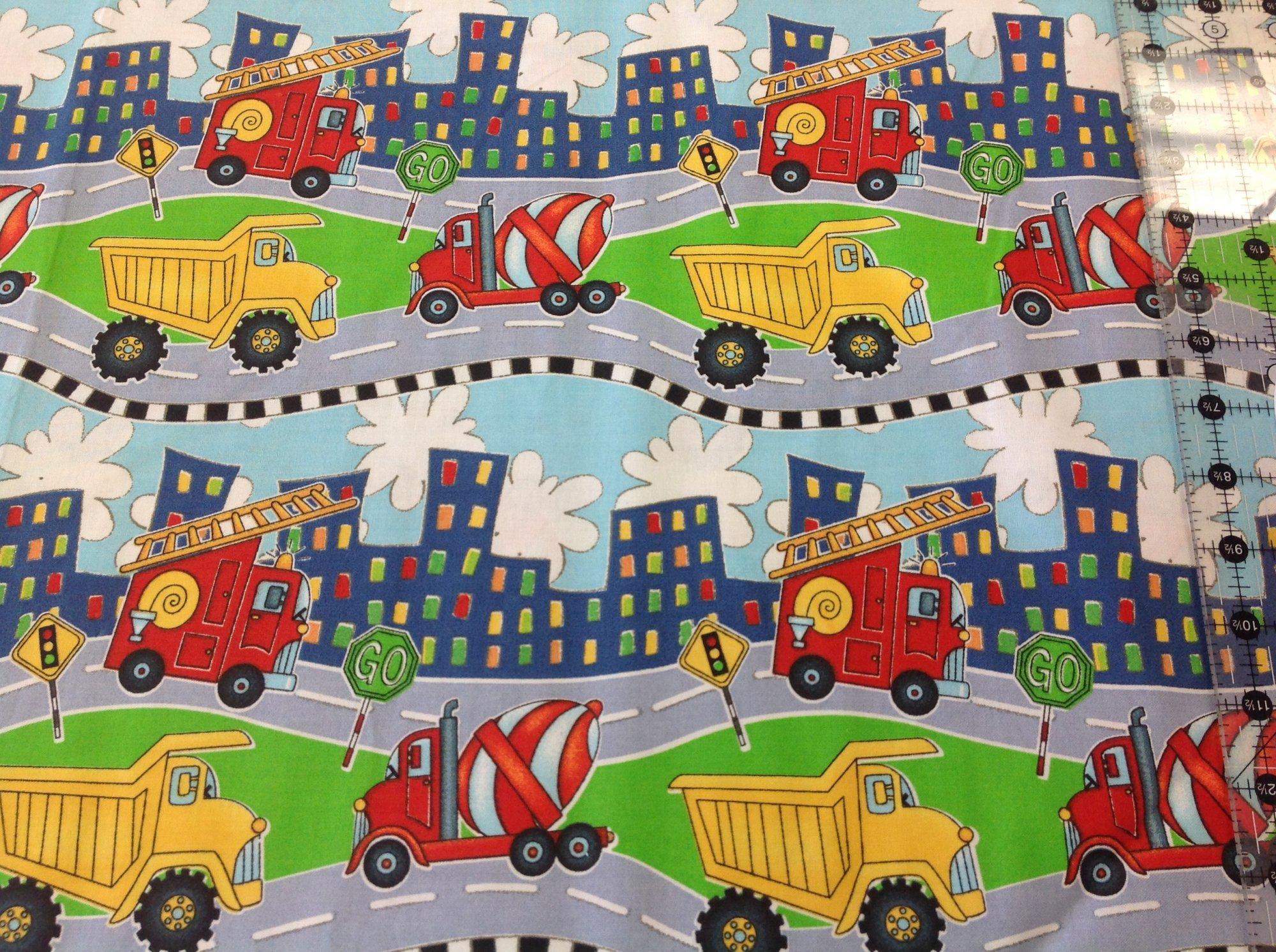 Keep On Truckin - Heavy Equipment Stripe