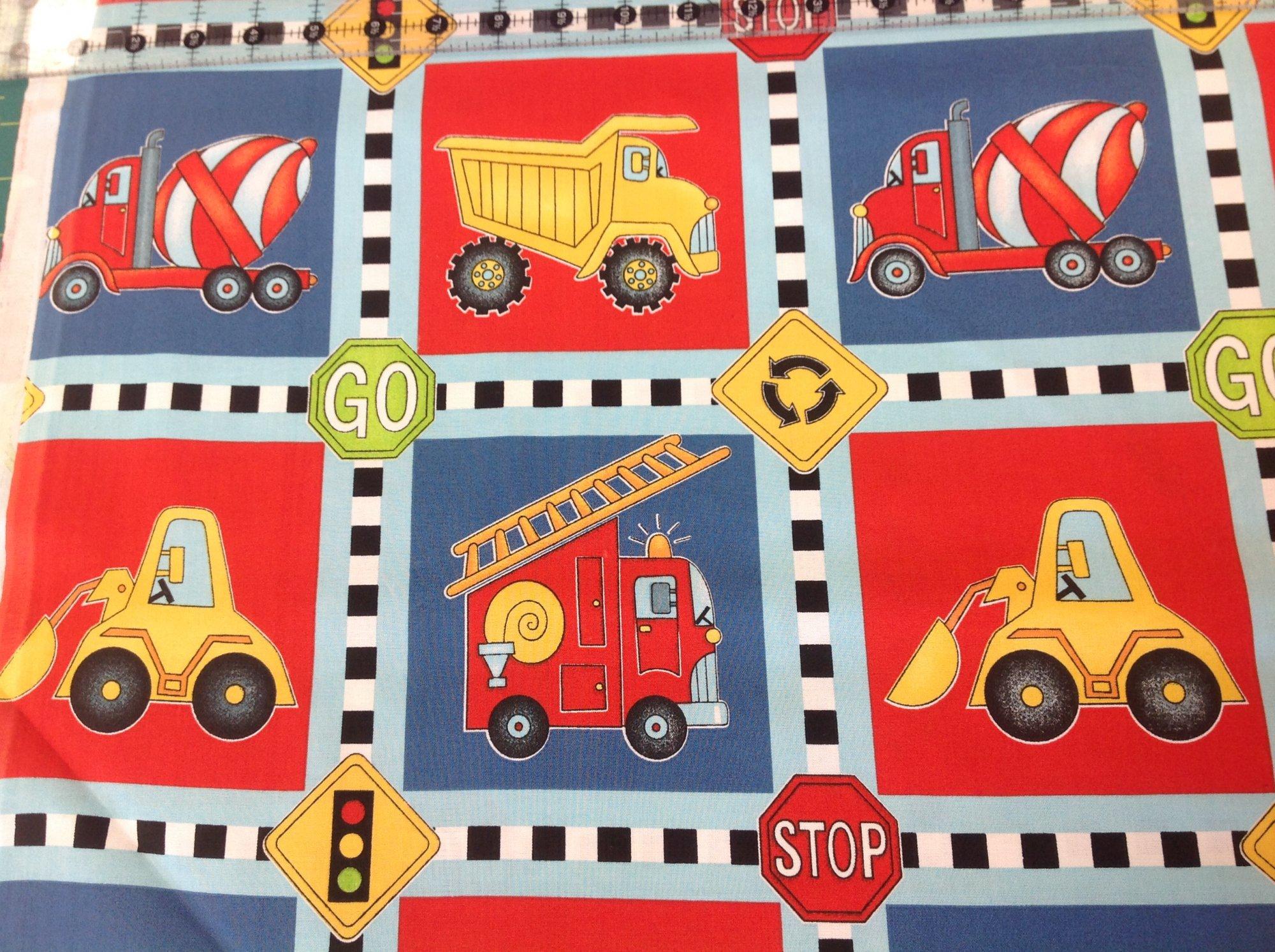 Keep On Truckin - Squares
