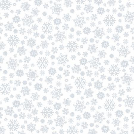 Snowflakes - White on White