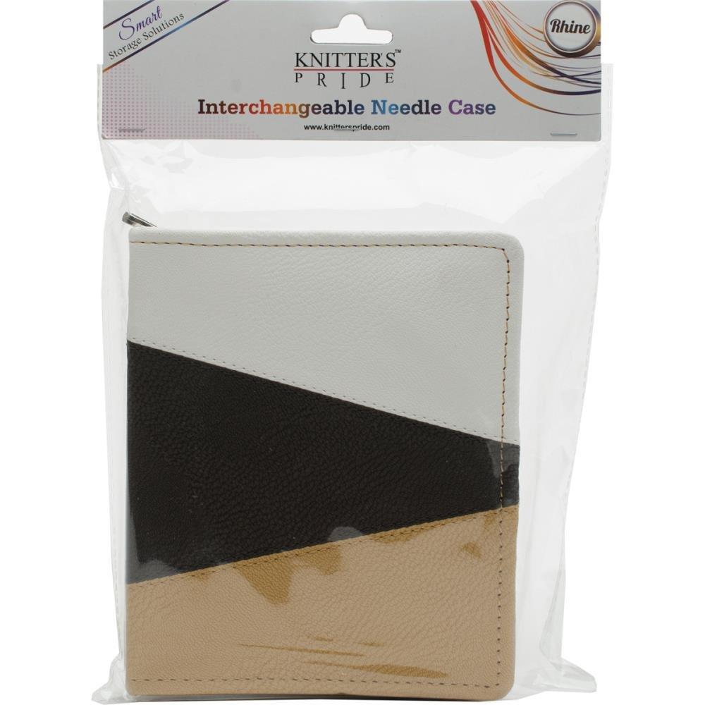 Faux Leather Rhine Interchangeable Needles Case