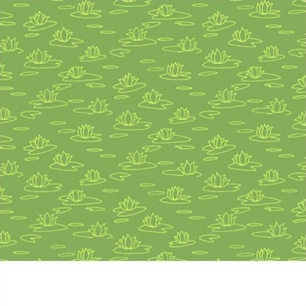 Susybee green lily pad fabric