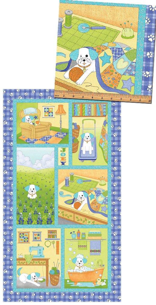Joey The Shop Dog Joey Diary Panel Blue