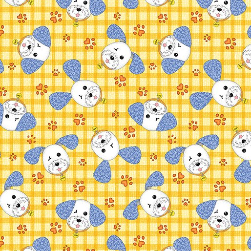 Joey The Shop Dog Happy Joey Yellow