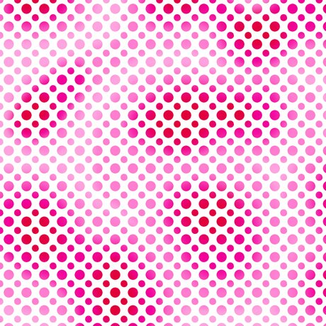 Ombre Dots Red/Pink