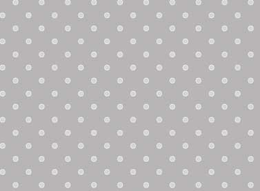 Basically Hugs Small White Dots on Gray 25042 MED GRY
