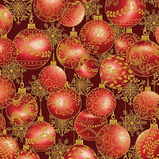 A Festive Season Hanging Ornaments Red