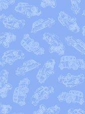 Classic Cars light blue
