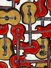 That Funky Jazz Guitars Red and Yellow