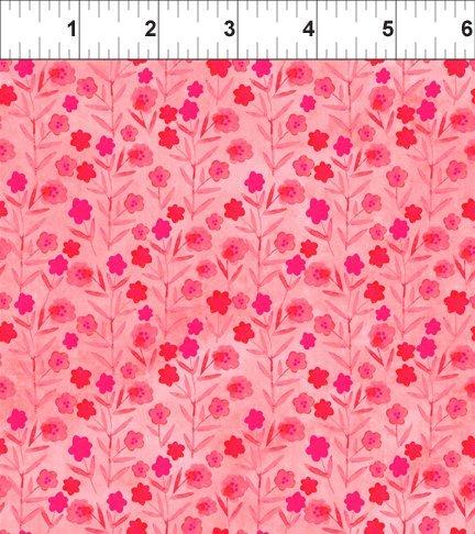 Floral Menagerie Posies Pink
