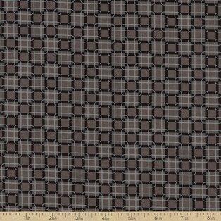 Rubies Black and Gray Geometric