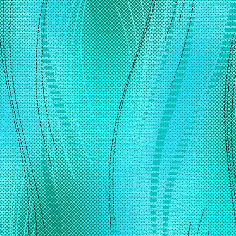 Amber Waves Teal Green