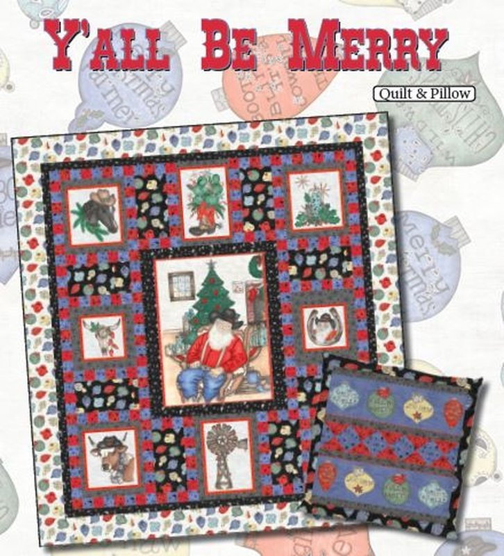 Y'all Be Merry Quilt Kit