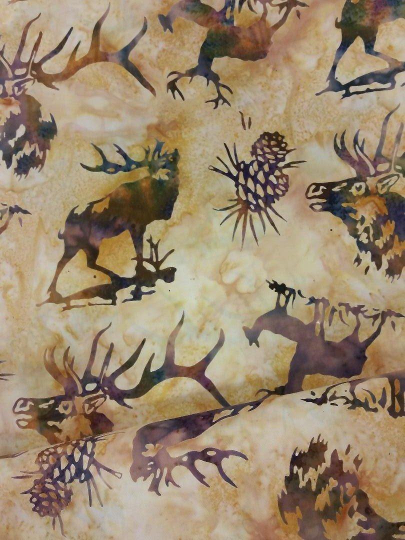 Custom Elk Amber Batik