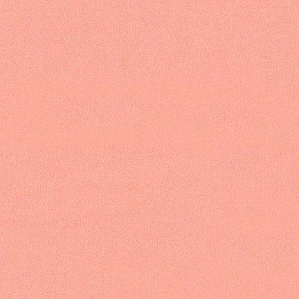 Cozy Cotton Flannel Peach Solid