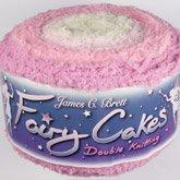 J Brett Fairy Cakes FC6 , white, Lt pink, pink & purple