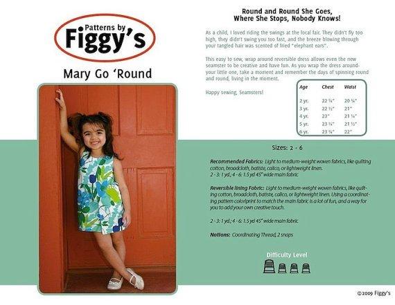 Mary go 'Round Dress