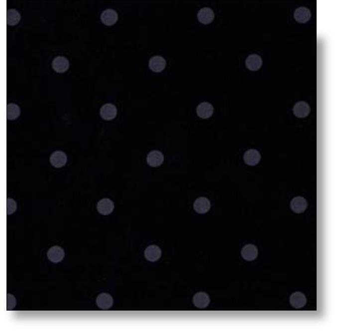 Mints Gray Dots on Black