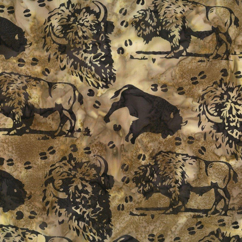 Custom Buffalo Saddle Batik N2876-372