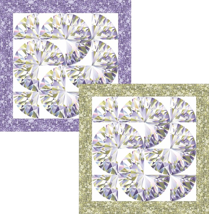 Diadem Quilt Pattern