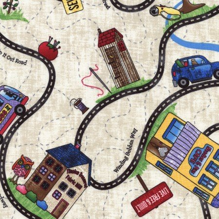 Row by Row Road Trip Map