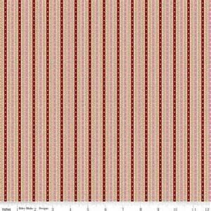 Prairie Rose Red Stripe