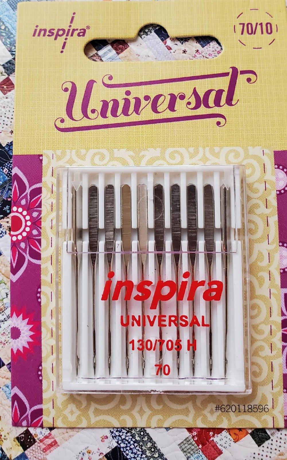 Inspira Universal 70/10 machine needles 10pk