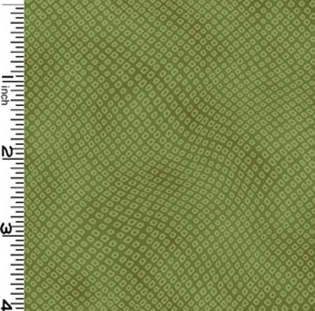 Shibori Tonals Green