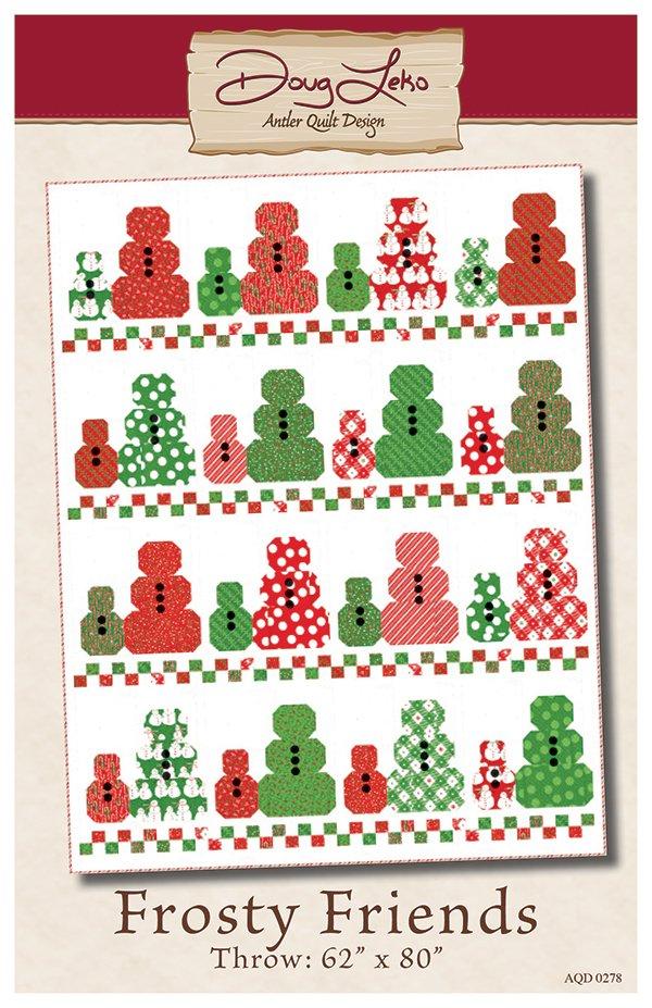 Frosty Friends Paper Pattern