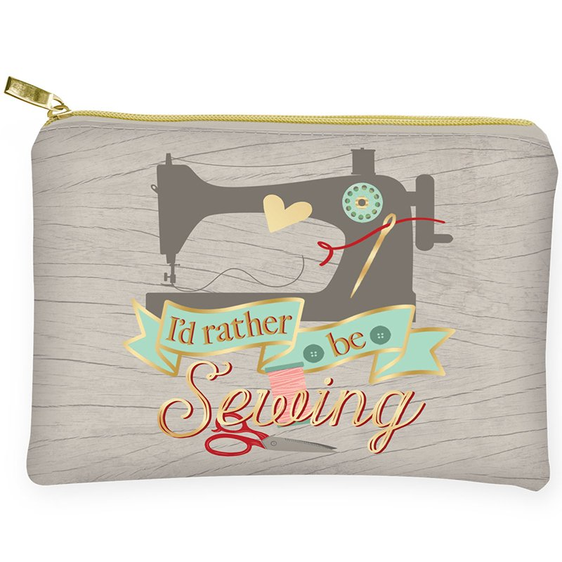 Glam Bag I'd Rather Be Sewing