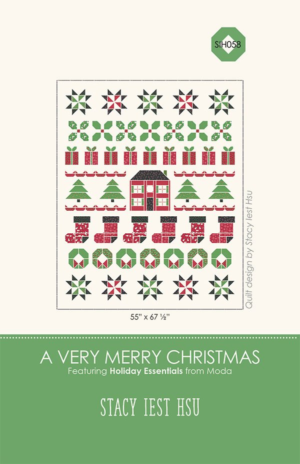A Very Merry Christmas Paper Pattern