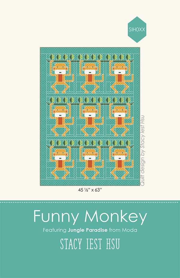 Funny Monkey Paper Pattern