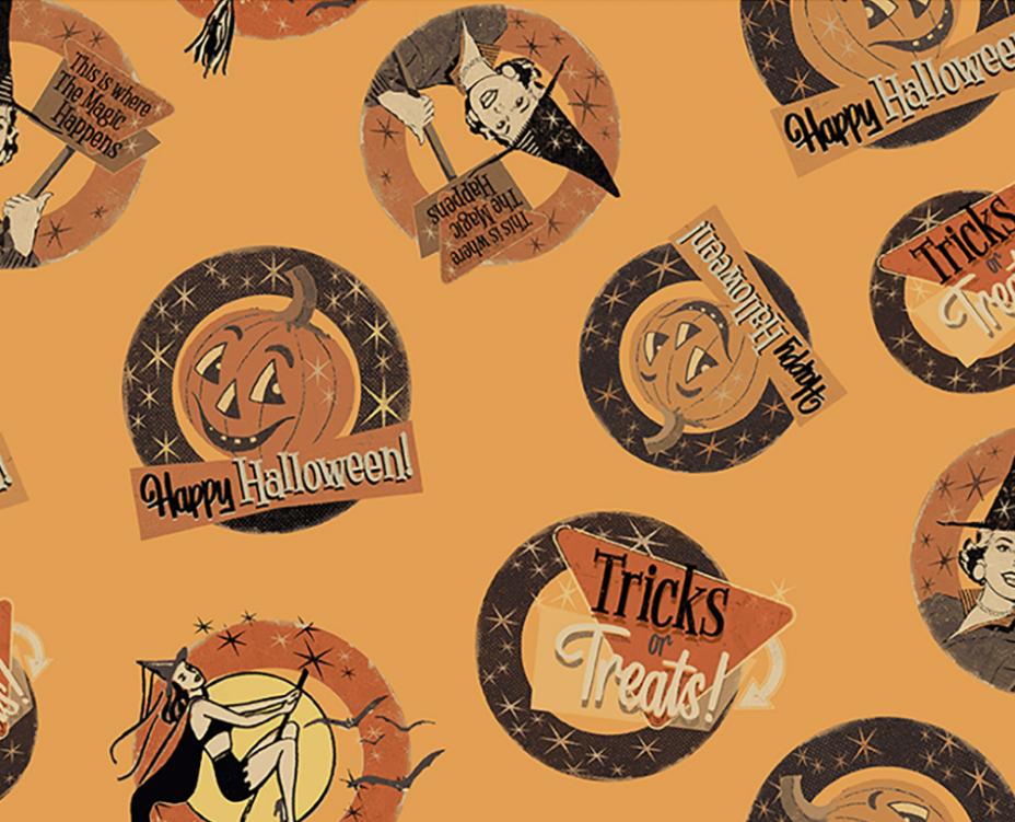 Retro Halloween 3246-69