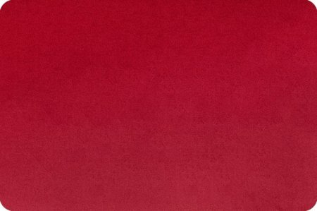 Minky Cuddle 60 Wide Crimson