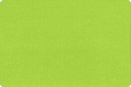 Minky Cuddle 60 Wide Dark Lime
