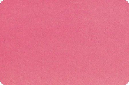 Minky Cuddle 60 Wide Hot Pink