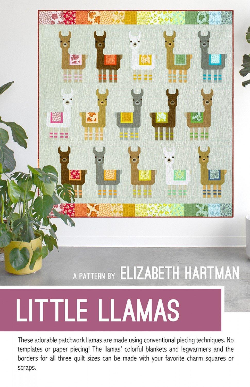 Little Llamas Paper Pattern
