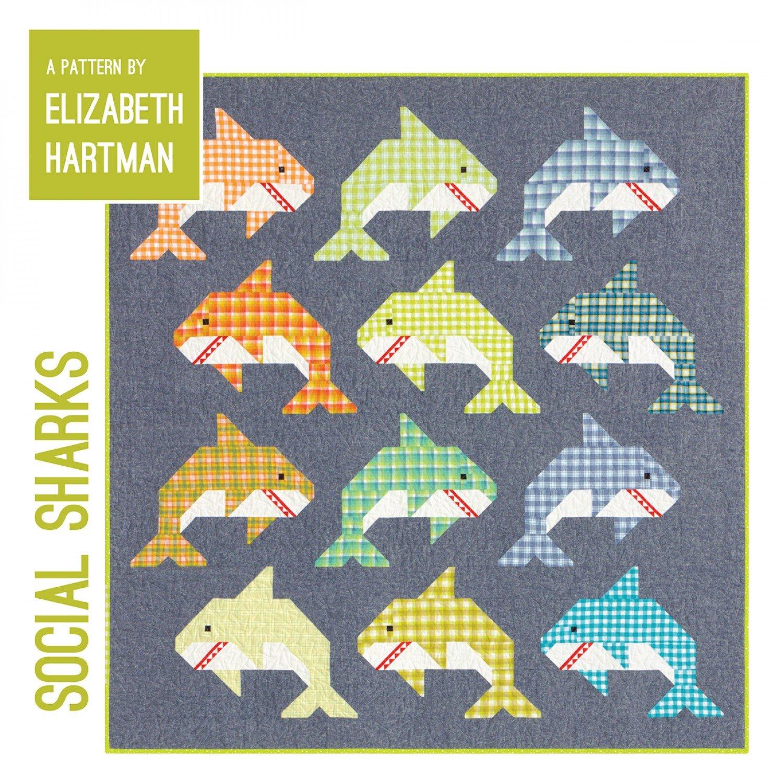 Social Sharks Paper Pattern