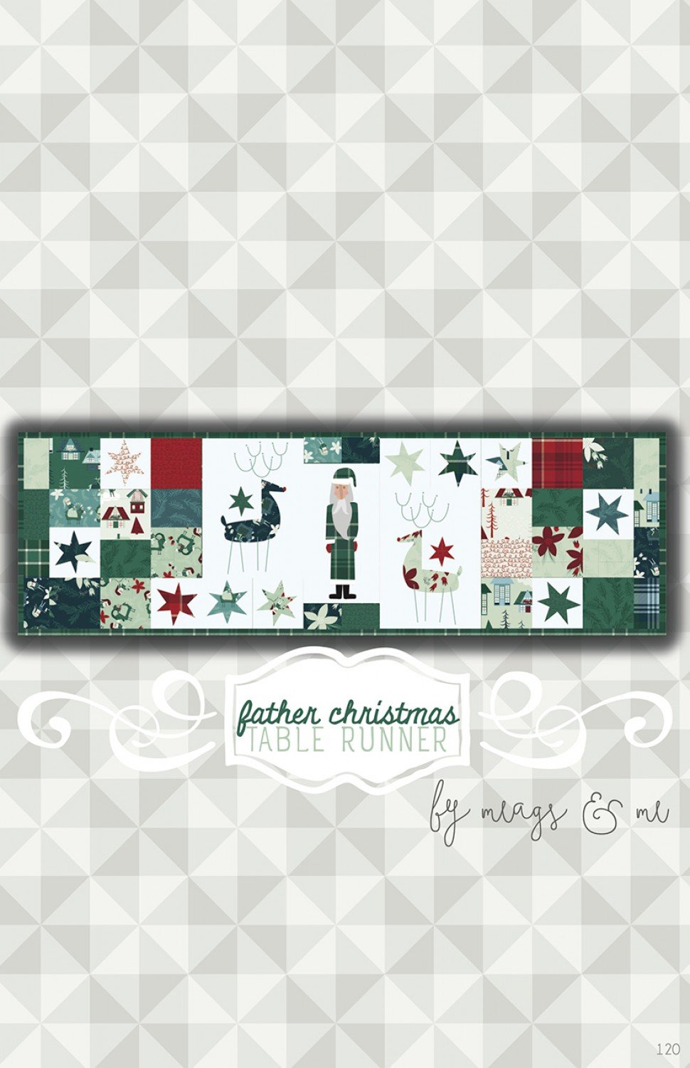 Father Christmas Paper Pattern