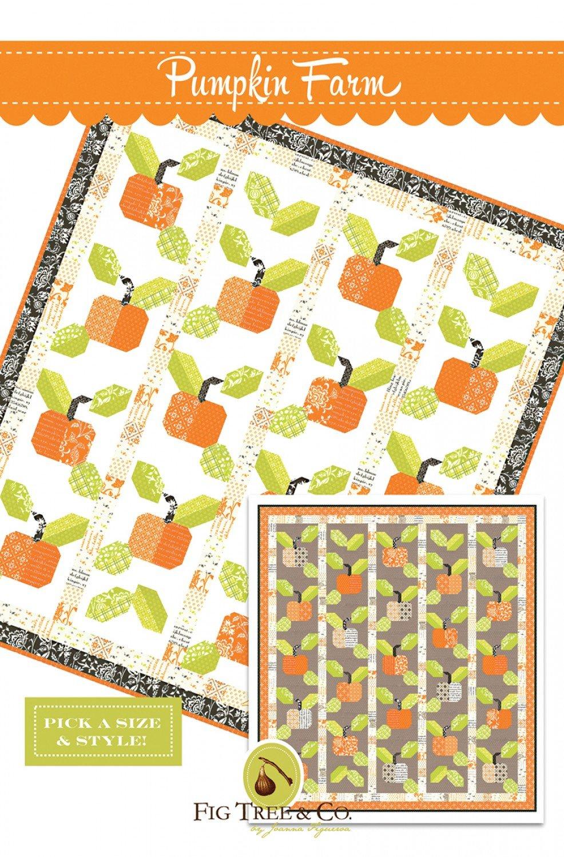 Pumpkin Farm Paper Pattern