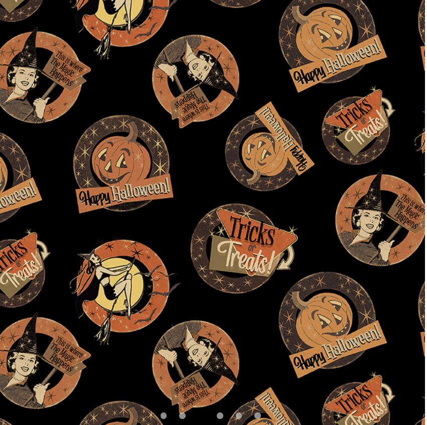 Retro Halloween 3246-3