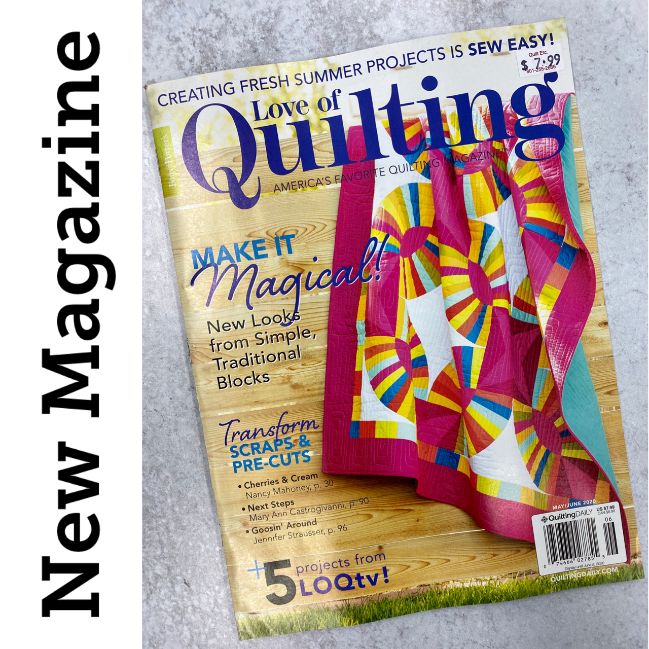 Love Of Quilting Magazine May/June 2020
