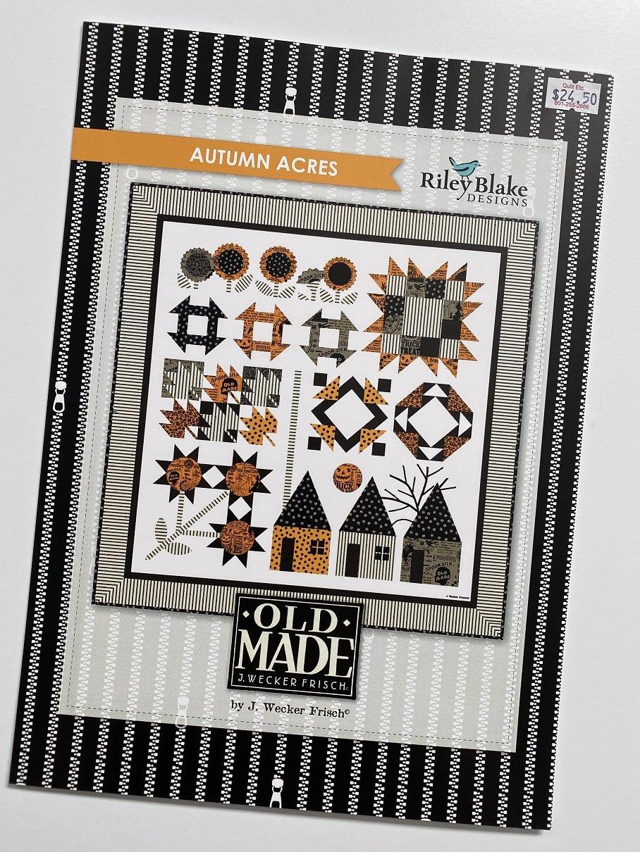 Autumn Acres Paper Pattern