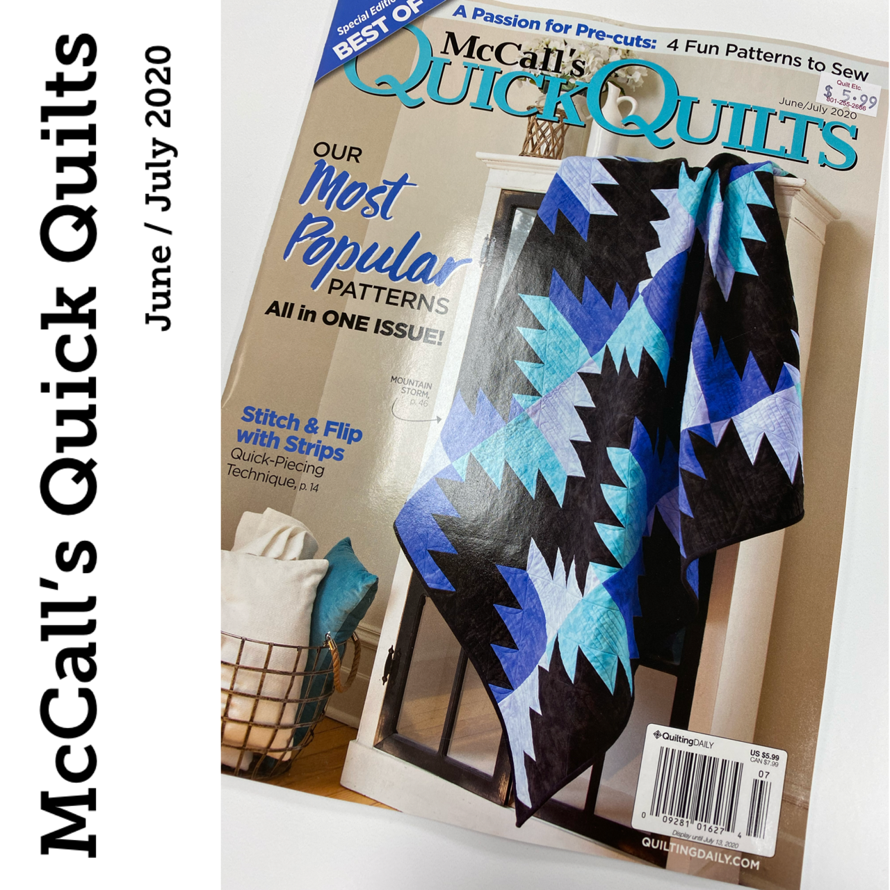 McCall's Quick Quilts  Magazine June/July 2020